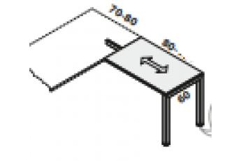 Allungo oxi gamba ponte quadrata