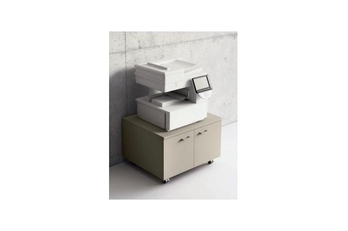 Mobile porta fotocopiatrice su ruote
