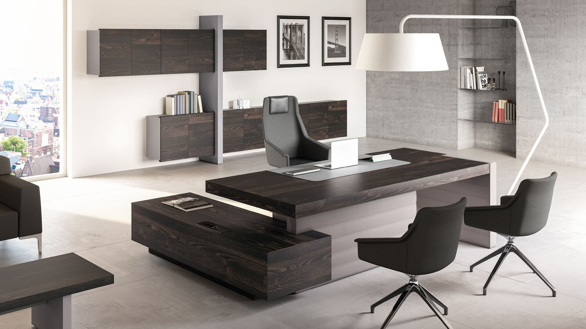 Office Furniture Corporate Reception Desks