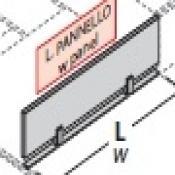 Pannello divisorio per Bench oxi : Variante L.120