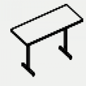 Tavolo rettangolare Nobu : Variante 240x120