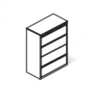 Classificatore orizzontale : Variante 93x45x135H