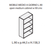 Mobile a giorno : Variante 90xp44,5xh.158