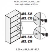 Mobile a giorno : Variante 90xp44,5xh.197