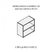 Mobile a giorno : Variante 90xp44,5xh.81