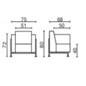 Cube: Variante L.75xp.68xH.80