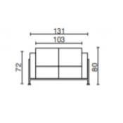 Cube: Variante L.131xp.68xH.80
