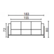 Cube: Variante L.183xp.68xH.80