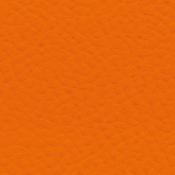 Poltrona Star con poggiatesta : Variante ecopelle arancio