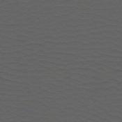Poltrona Star con poggiatesta : Variante ecopelle grigio scuro