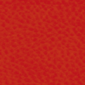 Poltrona Star con poggiatesta : Variante ecopelle rosso