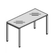 Funny gamba U piano vetro : Variante 140x80