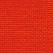 Poltrona Star con poggiatesta : Variante tessuto rosso
