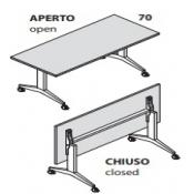 Tavolo Iko: Variante 160x70
